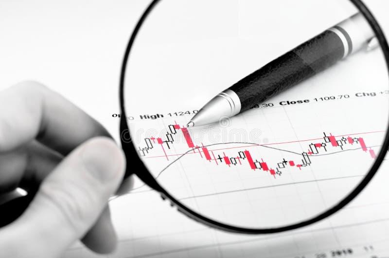 分析股市 免版税库存照片