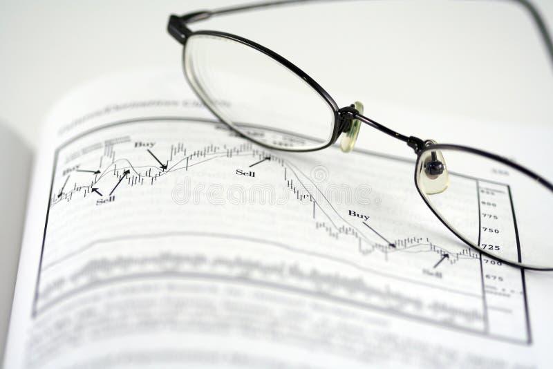 分析股票 库存照片