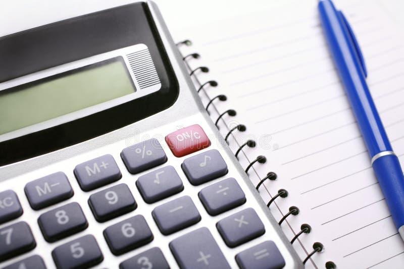 分析财务的数据 免版税库存图片