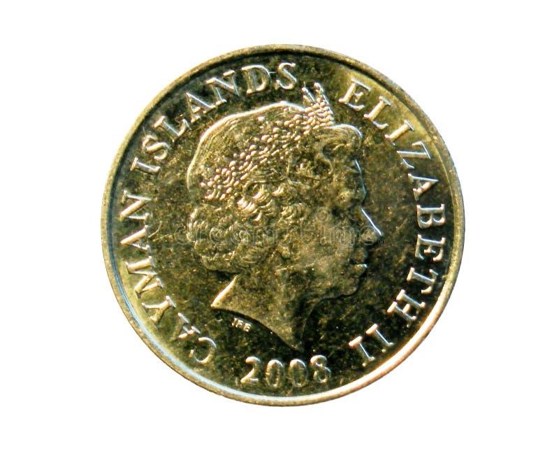 25分硬币(两桅的大鳄鱼大篷车) 大鳄鱼Islan银行  库存图片