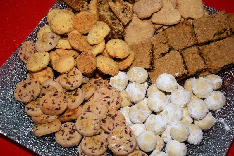 分类的Cookie 免版税库存图片