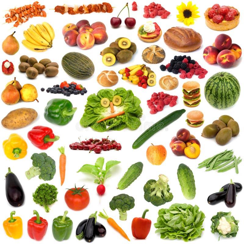 分类食物 免版税库存图片