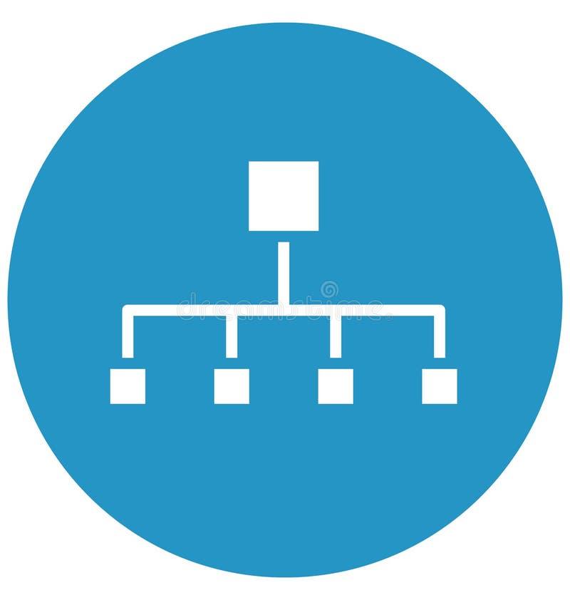 分级网,阶式结构隔绝了在所有大小可以容易地被编辑或修改的传染媒介象 分层结构 皇族释放例证