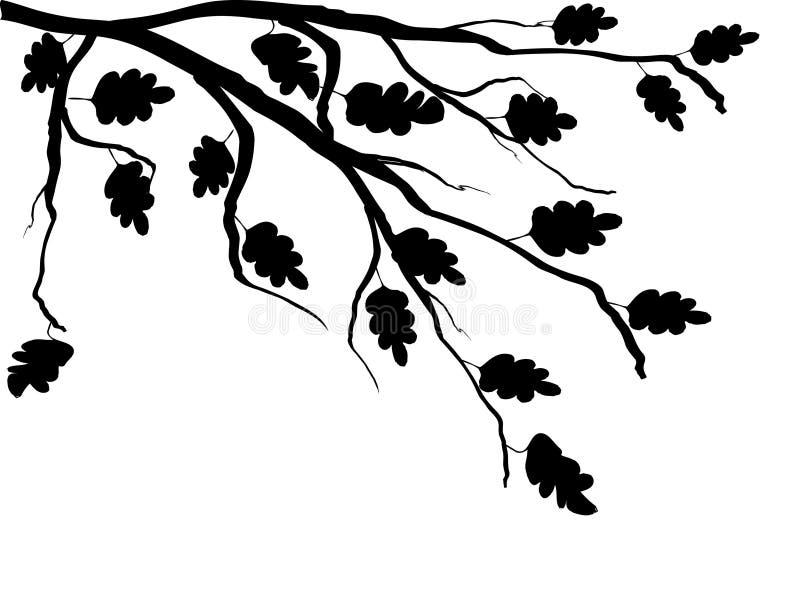 分行结构树 向量例证