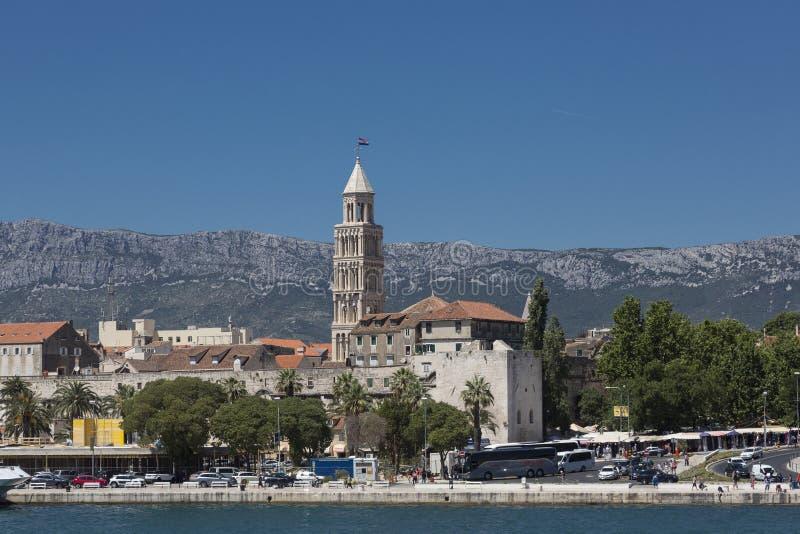 分裂口岸,克罗地亚 免版税图库摄影