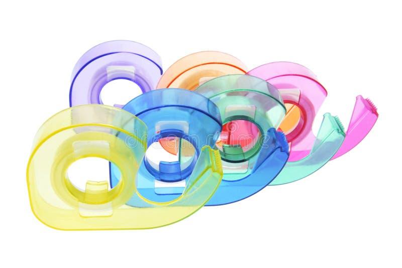 分配器塑料磁带 免版税库存照片