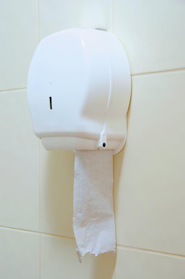 分配器毛巾纸 免版税图库摄影