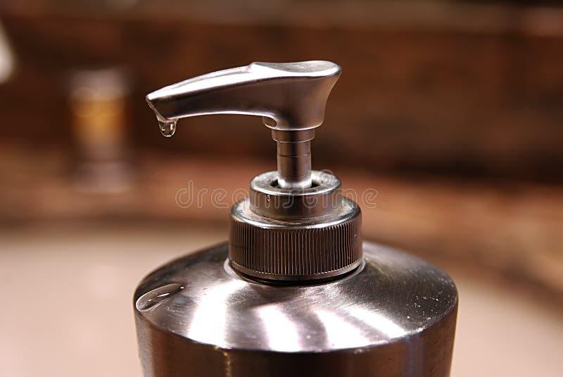 分配器肥皂 免版税库存图片
