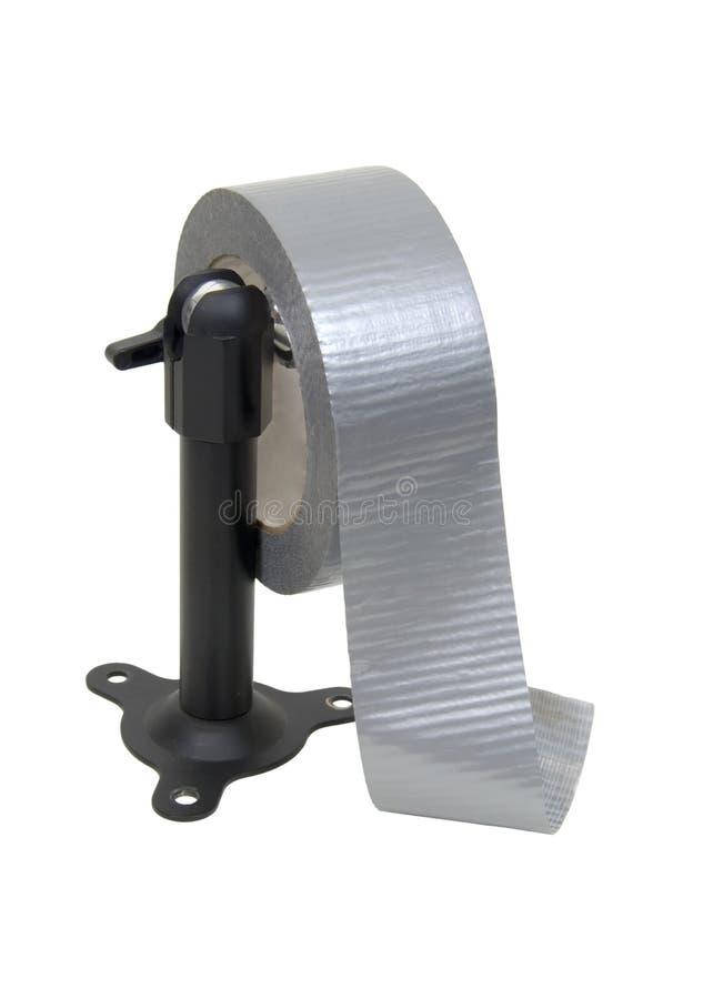 分配器输送管磁带 免版税库存照片