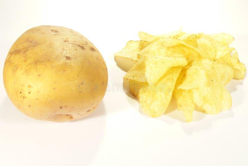 切削土豆 库存照片