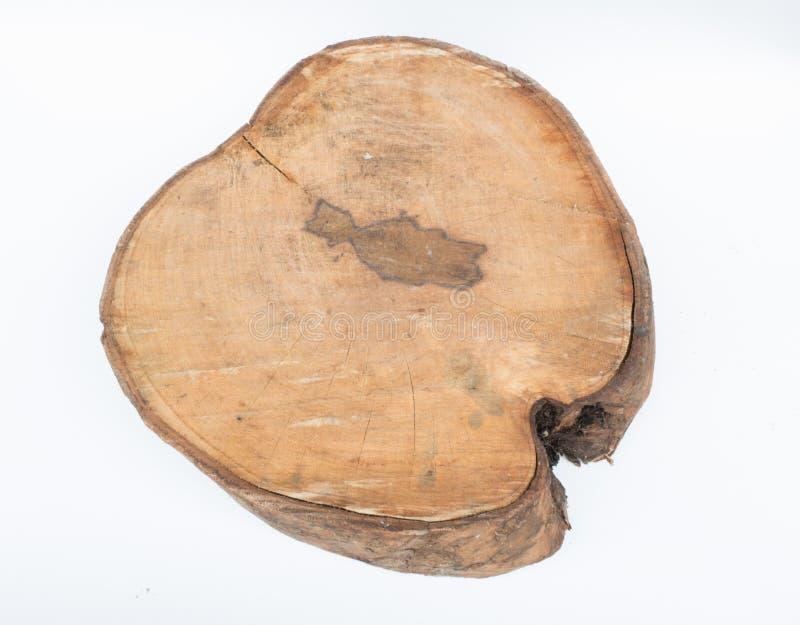 切口木头 库存照片