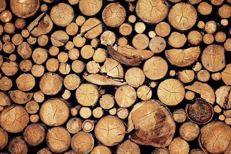 切好的木头 图库摄影