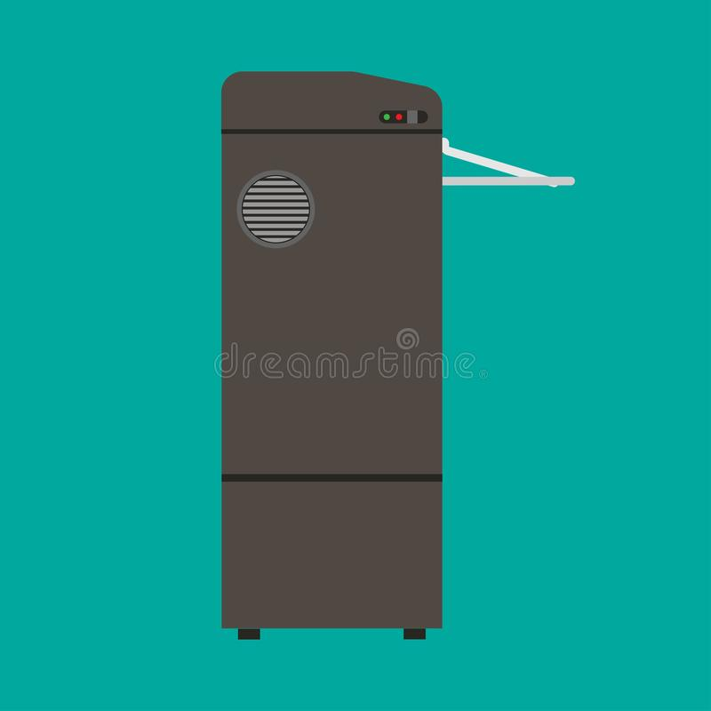 切废纸机废保密性文书工作安全传染媒介象 办工用计算机文件毁坏被拆毁的工作 库存例证