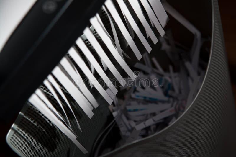 切废纸机 免版税库存图片