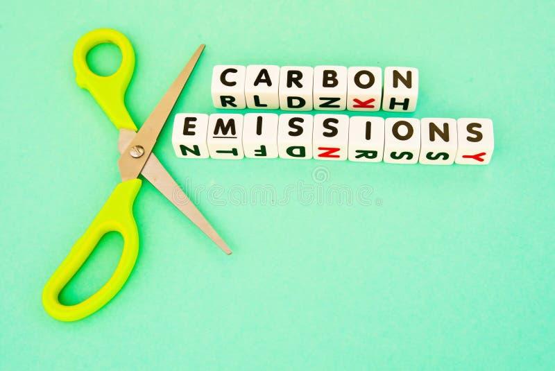 切开碳emmissions 图库摄影