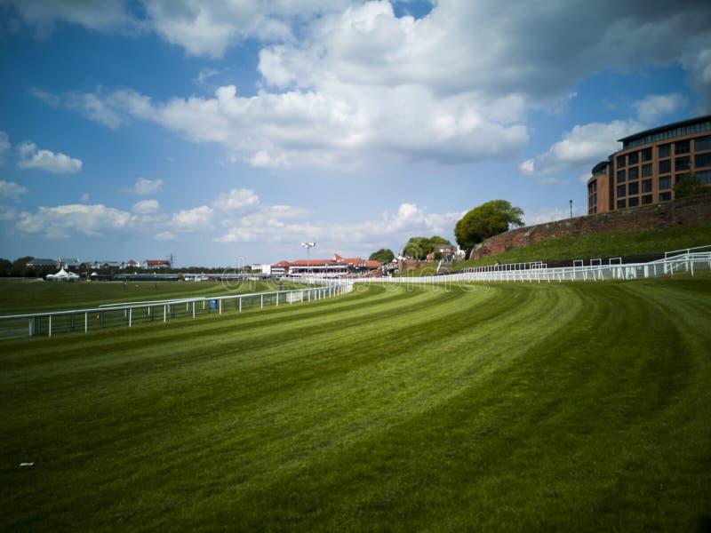 切斯特赛马场,英国切斯特 免版税库存图片