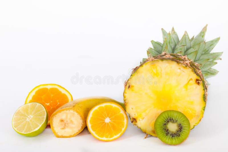 切热带异乎寻常的果子 免版税库存照片