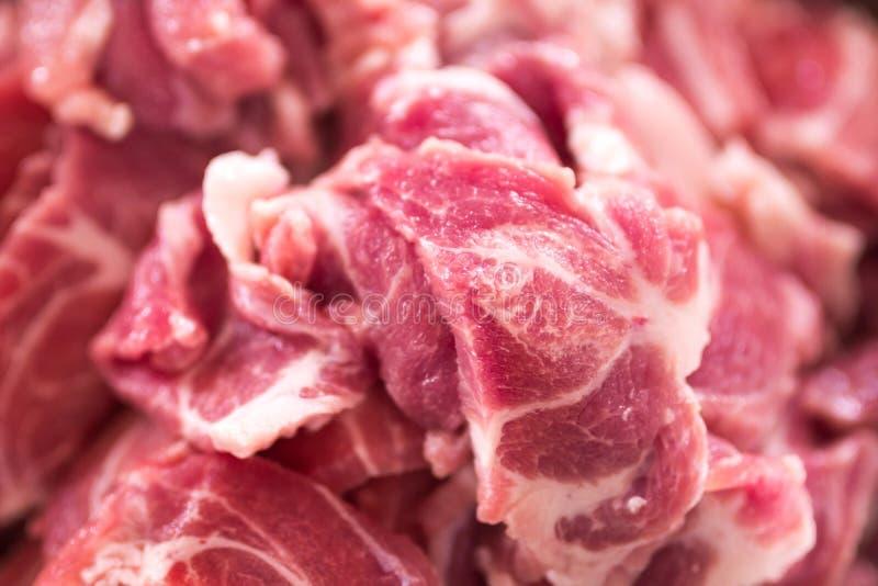 切片猪肉 免版税库存照片
