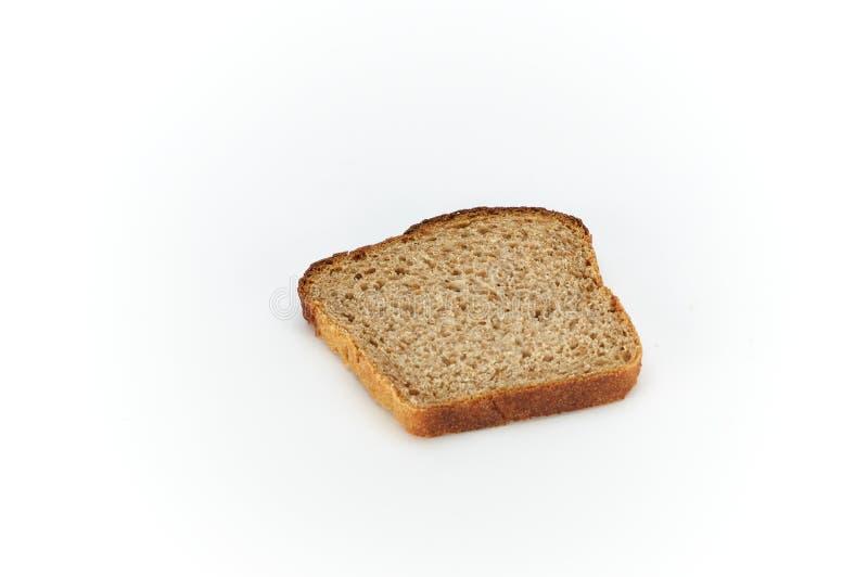 切片黑麦面包 库存图片