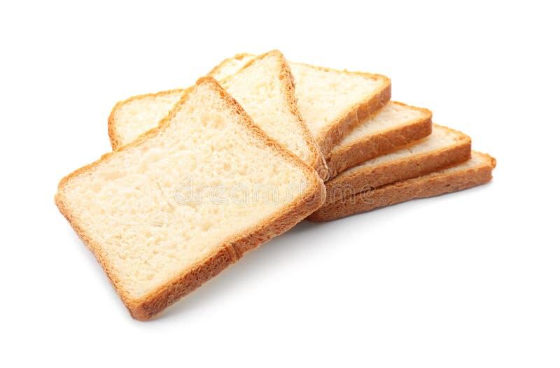 切的多士面包 库存照片
