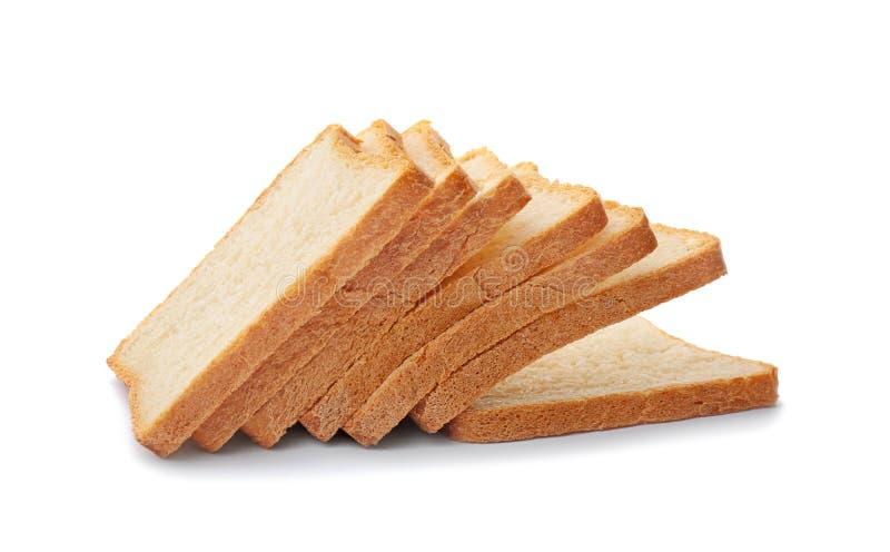 切的多士面包 库存图片