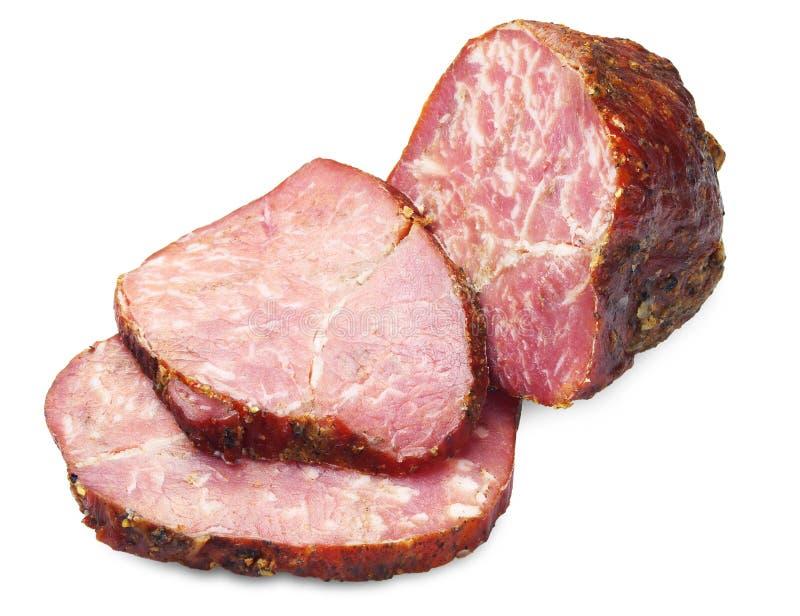 切的肉饼 免版税图库摄影