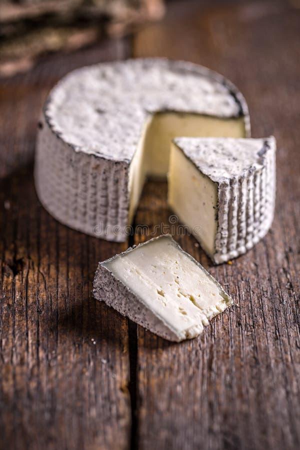 切的软制乳酪乳酪 免版税库存照片