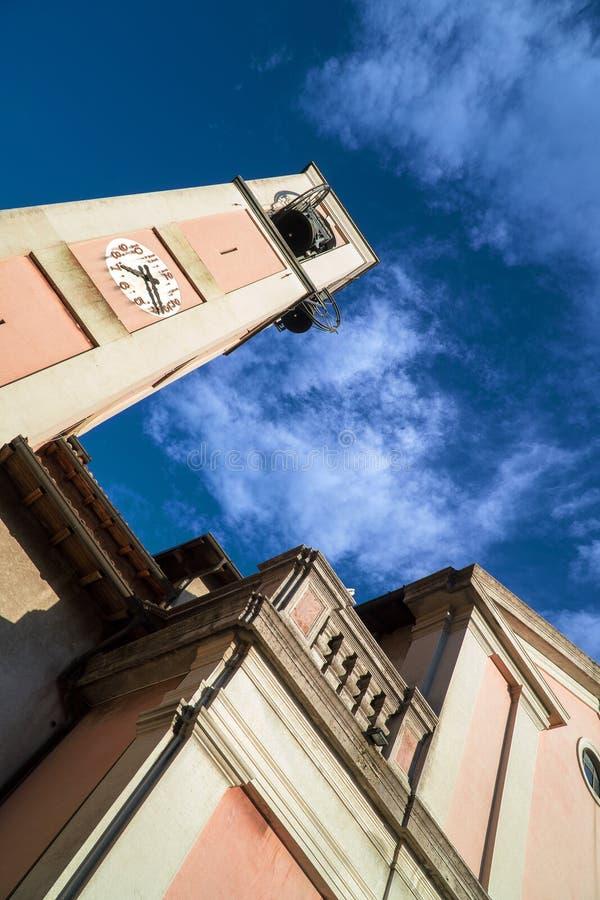 切萨di桑特'安德里亚阿波斯托罗 教会在布鲁纳泰 库存图片
