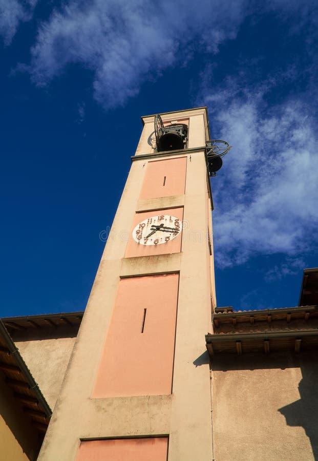 切萨di桑特'安德里亚阿波斯托罗 教会在布鲁纳泰 库存照片