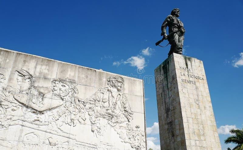 切・格瓦拉的纪念碑 库存照片