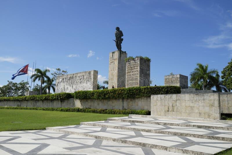 切・格瓦拉纪念碑,圣克拉拉,古巴 库存图片