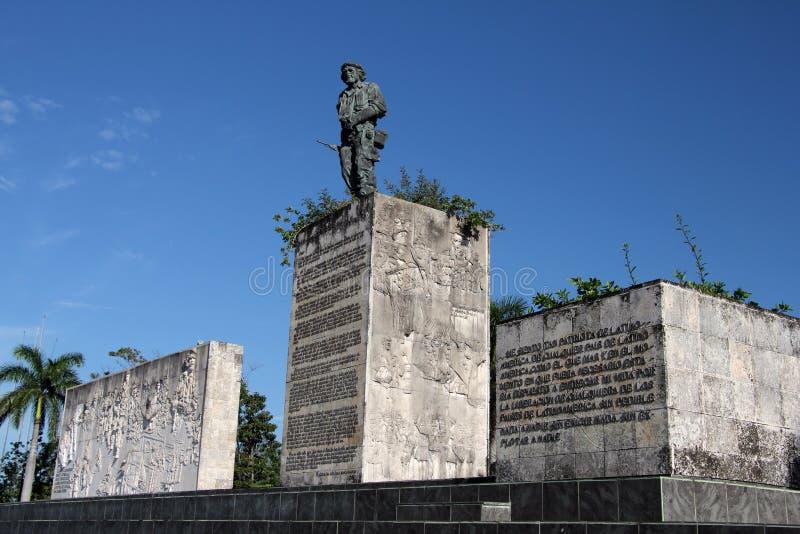 切・格瓦拉纪念碑 库存照片