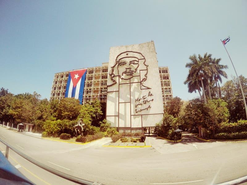 切・格瓦拉,哈瓦那古巴 免版税库存照片