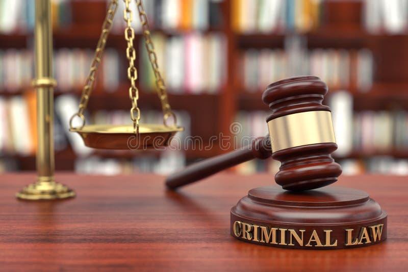 刑事诉讼法 免版税库存图片