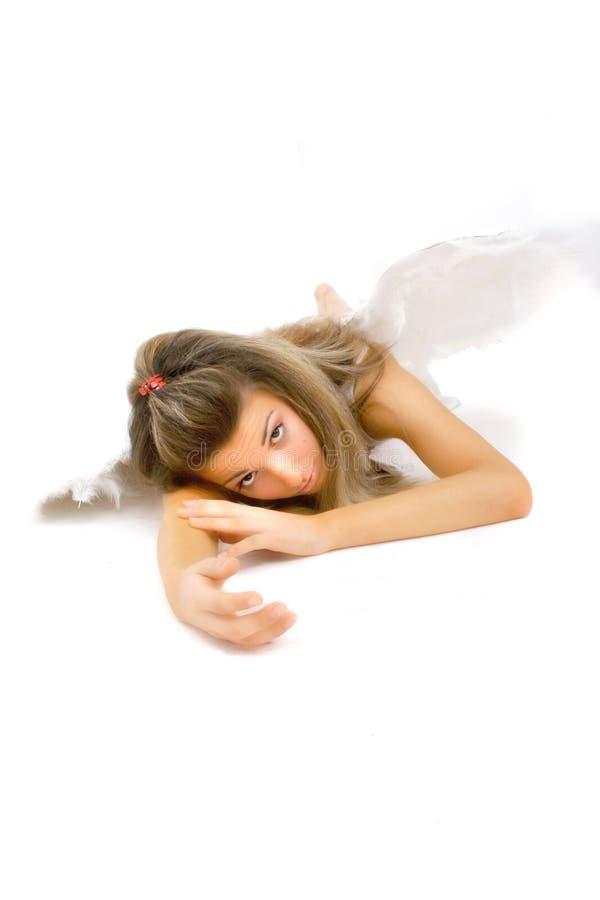划分为的1个天使 免版税库存照片
