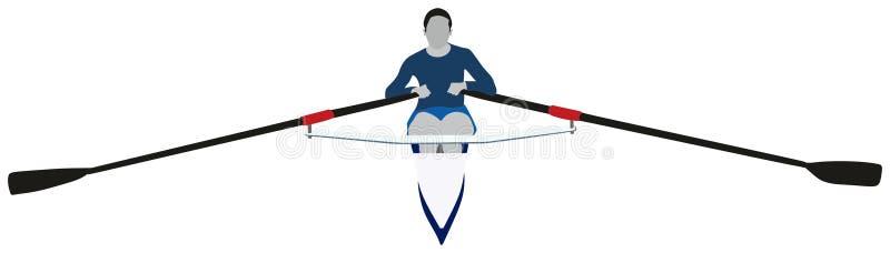 划船体育 皇族释放例证