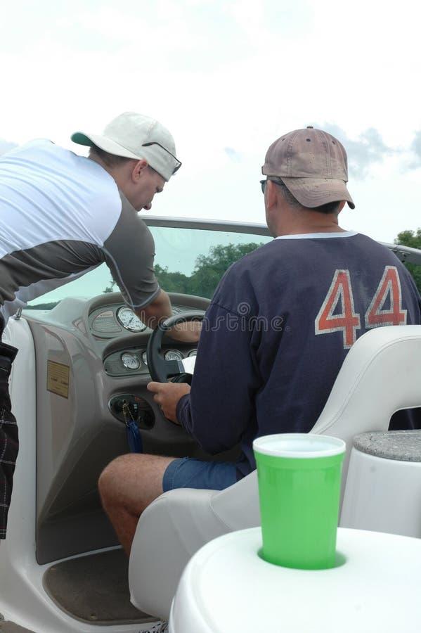 划船安全性 库存图片