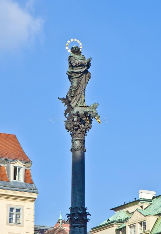 列圣母玛丽亚的维也纳 库存照片