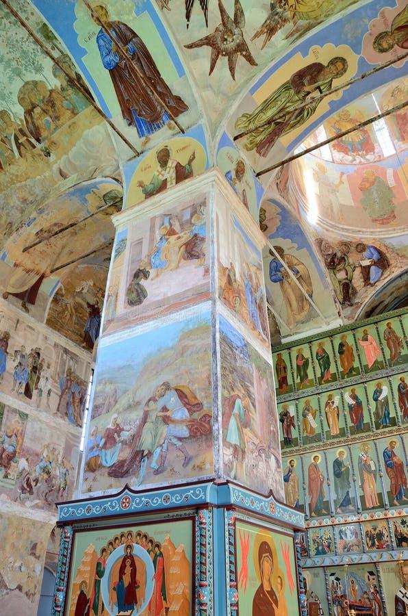 Download 列宁格勒地区,俄罗斯, 2015年9月, 13日, Svyatotroitsky亚历山大Svirsky修道院,三位一体的壁画的片段 编辑类图片 - 图片 包括有 旅行, 文化: 62528945