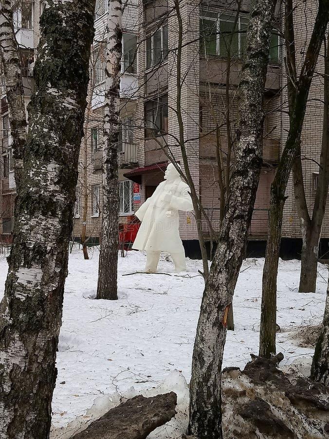 列宁熔化 库存图片