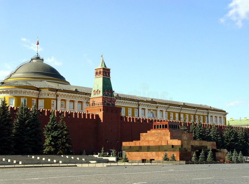 列宁陵墓 免版税图库摄影