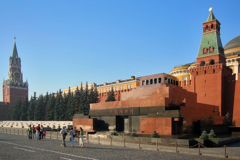 列宁陵墓 库存图片
