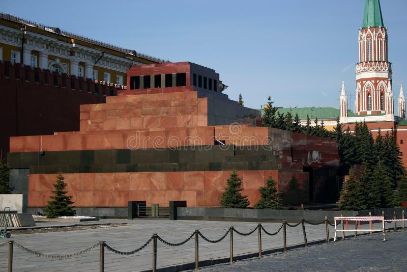 列宁陵墓s 库存图片