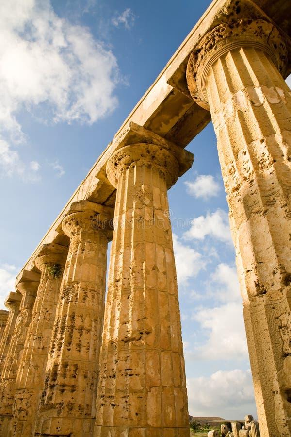 列希腊西西里岛 免版税库存照片