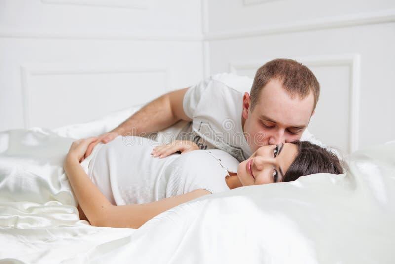 系列愉快怀孕 免版税图库摄影