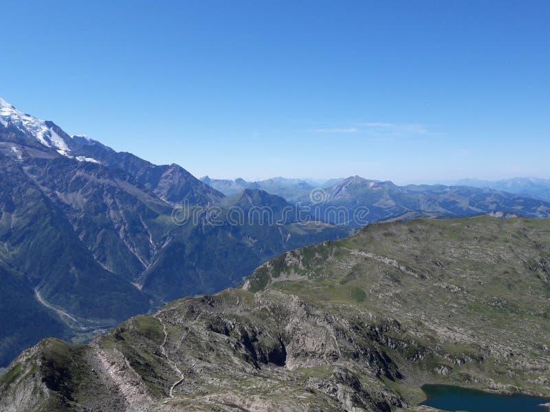 列斯Alpes 库存图片