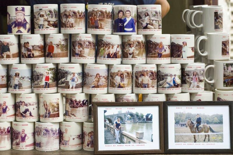 系列杯子照片 库存照片