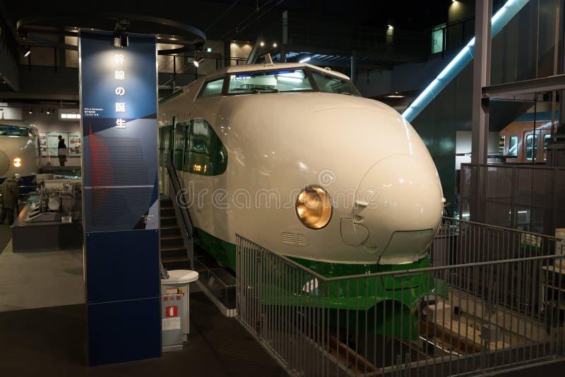 系列200 Shinkansen 免版税库存图片