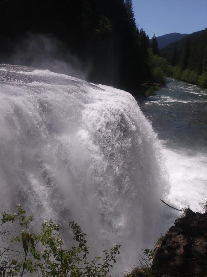 刘易斯瀑布 库存图片