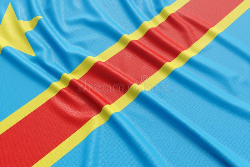 刚果民主标志共和国 库存例证